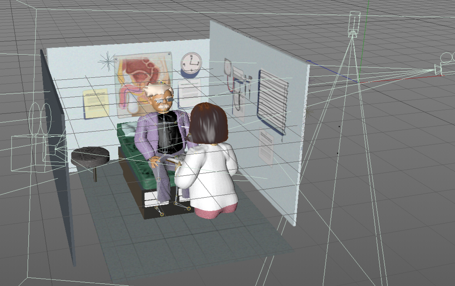 Frailty Animation Process: Rigging & Animating Characters